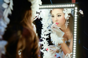 Miss Universe China Backstage