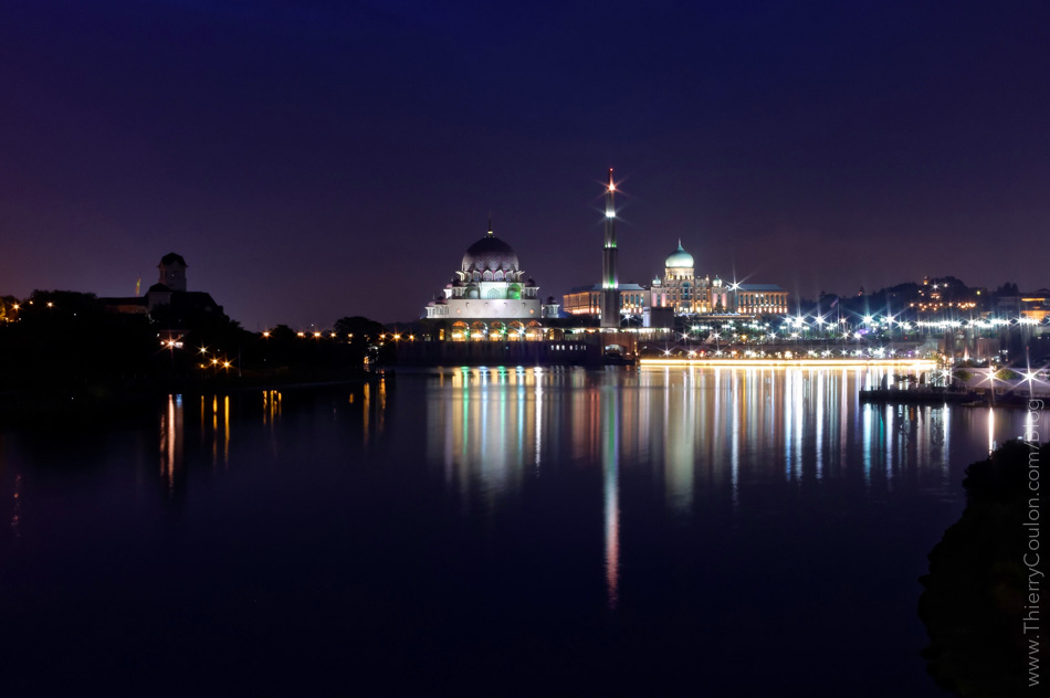 Putrajaya Mosque by night Malaysia Shot with DXO ONE camera_
