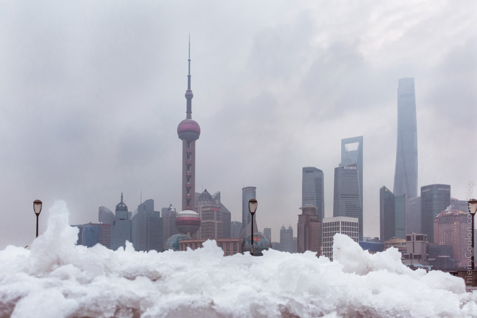 Snow in Shanghai Photographer Thierry Coulon with DXOOne camera