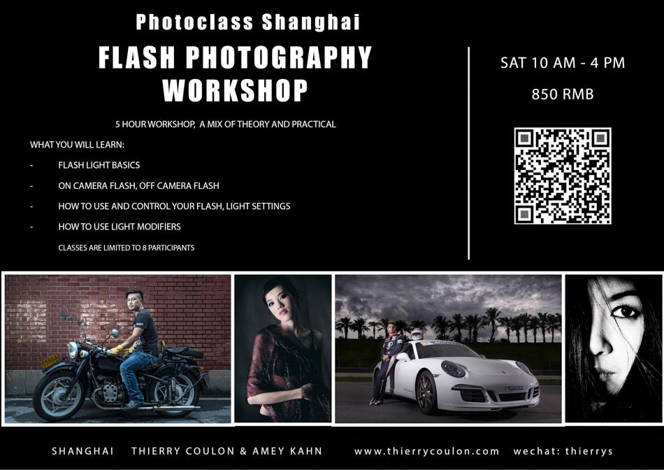 Flash Photography Class Shanghai workshop