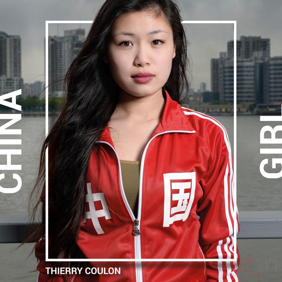 Portrait Photographer Book Shanghai China Girl