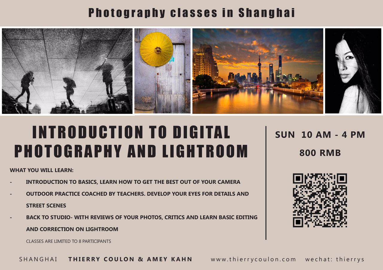 Introduction to digital Photography Shanghai