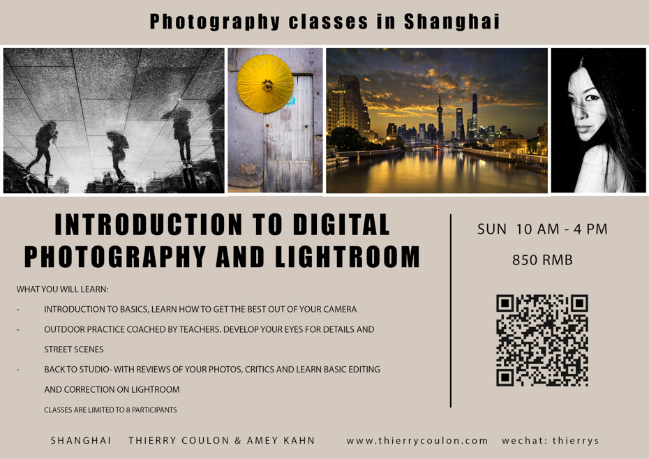 Photography classes Shanghai Beginners